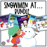 Snowmen at Night, Christmas, Work and All Year Bundle