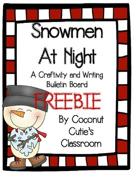 Snowmen at Night {FREEBIE}