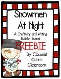 Snowmen at Night {FREEBIE}