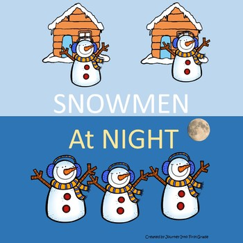 Snowmen at Night Guided Reading Lesson Plan