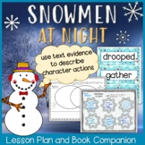 Snowmen at Night Lesson Plan and Book Companion - Distance Learning