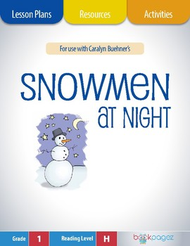 Snowmen at Night Lesson Plans & Activities Package, First