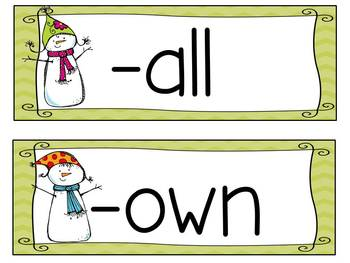 Story Activities:  Snowmen at Night