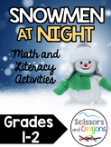 Snowmen at Night Math and Literacy Pack first grade and second grade