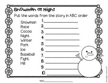 Snowmen at Night Book Companion