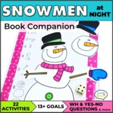 Snowmen at Night Speech Therapy Book Companion