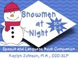 Snowmen at Night: Speech and Language Activities