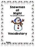 Snowmen at Night Vocabulary