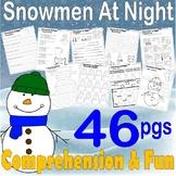 Snowmen at Night Winter Book Companion Reading Comprehension Literacy Study Quiz