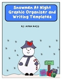 Snowmen at Night graphic organizer and writing templates