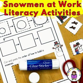 Snowmen at Work Activities for Kindergarten