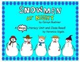 Snowman. Snowmen at Night.  A Snowman Close Read and Common Core Snowman Unit