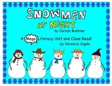 Snowman. Snowmen at Night.  A Snowman Close Read and Common Core Snowman Unit