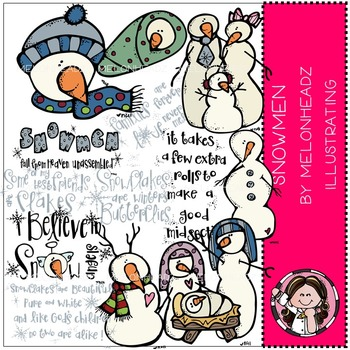 Snowmen by Melonheadz COMBO PACK
