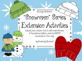 """Snowmen"" series by Caralyn Buehner Extension Activities"