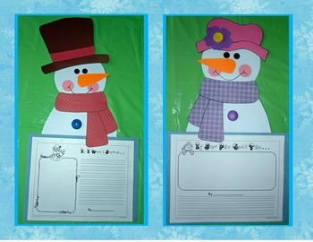 Snowpals Just Want to Have Fun! Snowman Craft and Activities