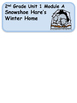 ReadyGen Snowshoe Hare's Winter Home Vocabulary 2nd grade Unit 1, Module A