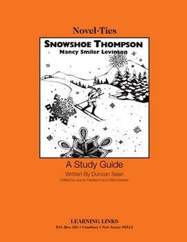 Snowshoe Thompson - Novel-Ties Study Guide