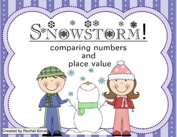 Snowstorm - Comparing numbers and place value