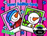 Snowy Addition Cards