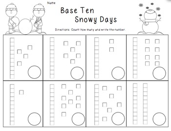 Snowy Base Ten