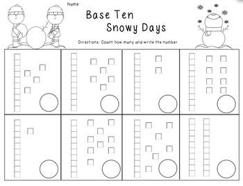 Snowy Base Ten