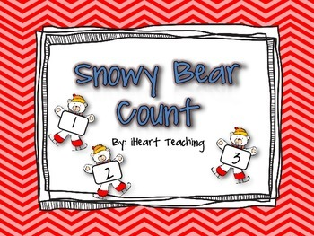 Snowy Bear Math Centers {FREEBIE}