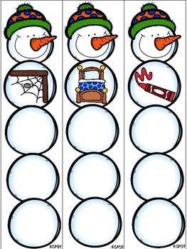 Snowy CVC Snowmen