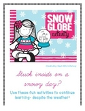 Snow Globe Activity Packet {Perfect For Snow(y) Days!}