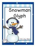 Snowy Day Activity: Snowman Glyph