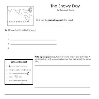 Snowy Day Art
