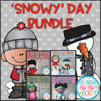 Snowy Day Bundle...Reading, Word Work, Math, Literature, and more!
