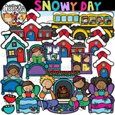 Snowy Day Clipart {Winter Clipart}