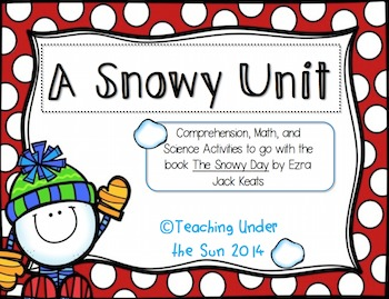 Snowy Day Reading Activities, Winter, Snow, Comprehension, Vocabulary, Reading