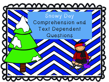Snowy Day Comprehension Passages