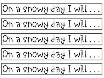 Snowy Day Craft