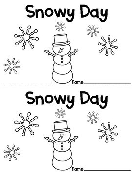 Snowy Day Emergent Reader