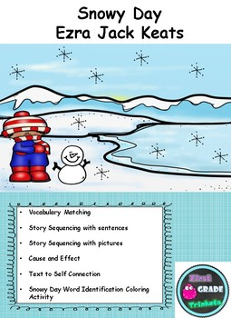 Snowy Day Ezra Jack Keats Packet