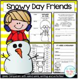 Snowmen Literacy Activities and Crafts with Favorite  Snowmen Literature!
