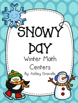 Snowy Day Math Centers