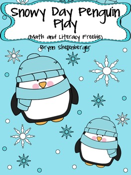 Snowy Day Penguin Play Freebie