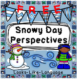 Social Skills Activity: Perspective Taking Snowy Day Freebie