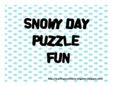 Snowy Day Puzzles