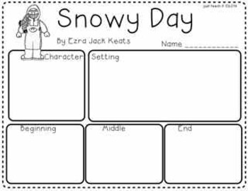 Snowy Day Story Map