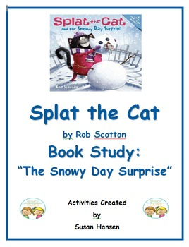 Splat the Cat Snowy Day Surprise Book Study