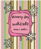 Snowy Day Word Sort