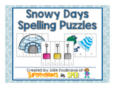 Snowy Days Spelling Pictures