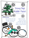 Snowy Days Toddler Packet
