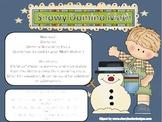 Snowy Domino Math K-2