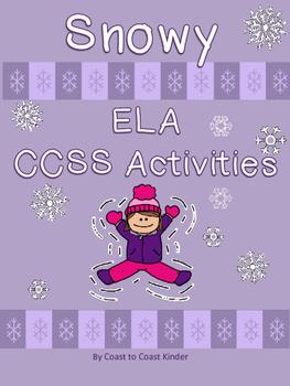 Snowy ELA CCSS Aligned Activities